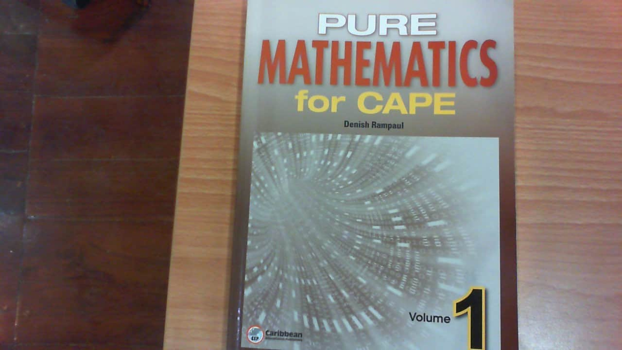 pure maths for cape unit 1 The two books in this series provide complete coverage of units i and ii of the new cape ® pure mathematics syllabus they offer a sound platform for students pursuing courses at tertiary institutions throughout the caribbean.