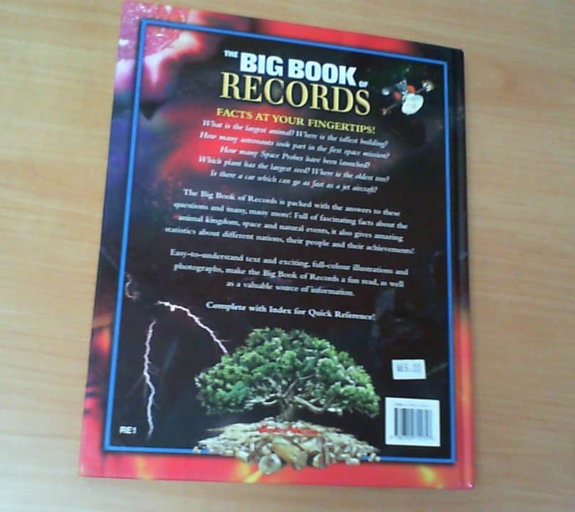 The Big Book of RECORDS | MySouSou