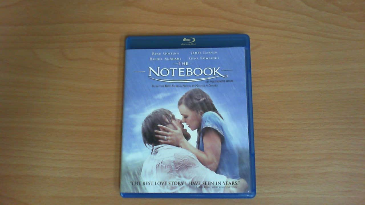 The Notebook Blu-ray movie